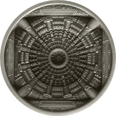 Cook Islands - 2015 - 10 Dollars - Forbidden City 4 Layer