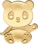 Palau - 2017 - 1 Dollar - Little Panda Small Gold