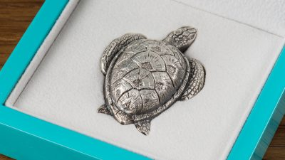 Palau - 2017 - 10 Dollars - Sea Turtle