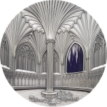 Palau - 2017 - 50 Dollars - Tiffany Art Wells Cathedral Kilo Version