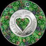 Cook Islands - 2017 - 5 Dollars - Murrine Millefiori Glass Art