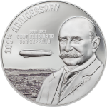 Cook Islands - 2017 - 20 Dollars - 100th Anniversary of Graf Zeppelin