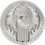 Cook Islands - 2017 - 5 Dollars - Fantastic Beasts and Where to Find Them: Magical Congress of the USA