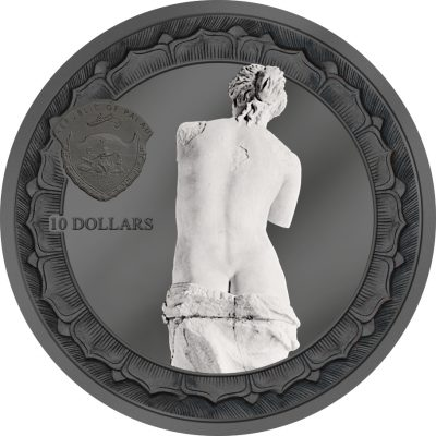 Cook Islands - 2017 - 10 Dollars - Eternal Sculptures Venus de Milo