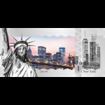 Cook Islands - 2017 - 1 Dollar - Skyline Dollar NEW YORK