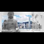 Cook Islands - 2017 - 1 Dollar - Skyline Dollar HONG KONG