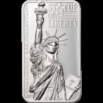 Cook Islands - 2017 - 10 Dollars - Statue of Liberty Bar
