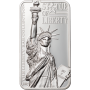 Cook Islands - 2017 - 10 Dollars - Statue of Liberty Bar
