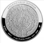 Mexico - 2011 - 100 Pesos - Aztec Calendar (PROOF)