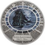 Cook Islands - 2016 - 5 Dollars - Ghost Ships FLYING DUTCHMEN (PROOF)