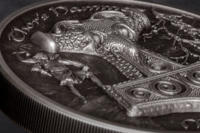 Cook Islands - 2017 - 10 Dollars - Thor's Hammer Mjöllnir