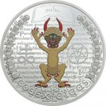 Equatorial Guinea - 2016 - 1000 Francos CFA CODEX GIGAS DEVILS BIBLE (including box) (PROOF)
