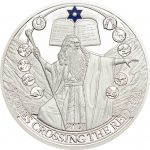 Palau - 2017 - 2 Dollars - Biblical Stories MOSES CROSSING THE RED SEA