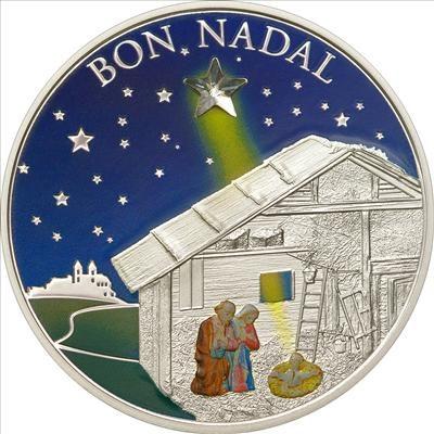 Andorra - 2011 - 5 Dinars - Bon Nadal (PROOF)