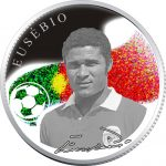 Armenia - 2008 - 100 Dram - Kings of Football EUSEBIO (PROOF)
