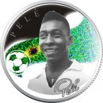 Armenia - 2008 - 100 Dram - Kings of Football PELE (PROOF)