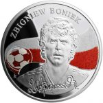 Armenia - 2009- 100 Dram - Kings of Football ZBIGNIEW BONIEK (PROOF)