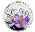 Belarus - 2013 - 10 Roubles - Under the Charm of Flowers CROCUS (PROOF)