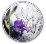 Belarus - 2013 - 10 Roubles - Under the Charm of Flowers IRIS (PROOF)