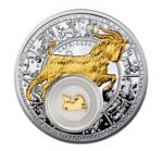 Belarus - 2013 - 20 Roubles - Zodiac Signs CAPRICORN (PROOF)