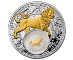 Belarus - 2013 - 20 Roubles - Zodiac Signs LEO (PROOF)