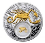 Belarus - 2013 - 20 Roubles - Zodiac Signs SCORPIO (PROOF)