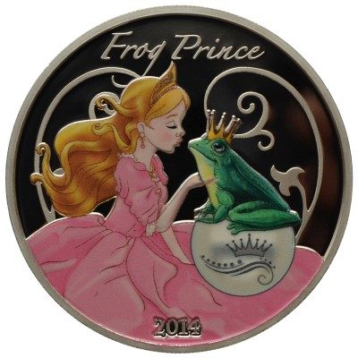 Benin - 2014 - 1000 Francs - Fairy Tales THE FROG PRINCE (PROOF)