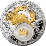 Belarus - 2013 - 20 Roubles - Zodiac Signs CANCER (PROOF)