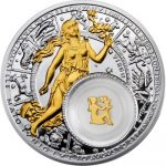 Belarus - 2013 - 20 Roubles - Zodiac Signs VIRGO (PROOF)