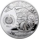 Belarus - 2011 - 20 roubles - Hansa City POLOTSK (PROOF)