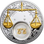 Belarus - 2013 - 20 Roubles - Zodiac Signs LIBRA (PROOF)