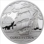 Belarus - 2010 - 20 Roubles - USS Constitution (Sailing Ship Series) (PROOF)
