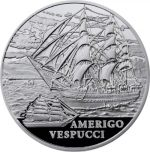 Belarus - 2010 - 20 Roubles - Amerio Vespucci (Sailing Ship Series) (PROOF)