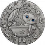 Belarus - 2009 - 20 roubles - Zodiac AQUARIUS (PROOF)