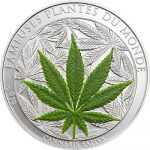 Benin - 2010 - 100 Francs - Plants of the World CANABIS / MARIHUANA (PROOF)