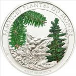 Benin - 2010 - 100 Francs - Plants of the World CHRISTMAS TREE (PROOF)