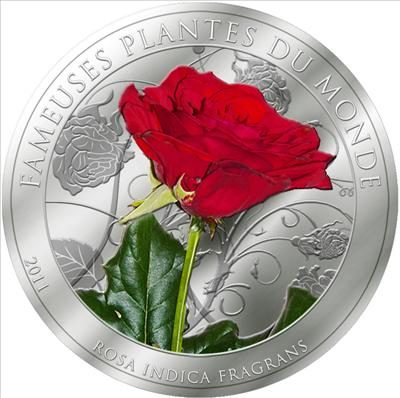 Benin - 2011 - 100 Francs - Plants of the World THE ROSE (PROOF)