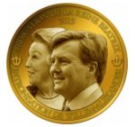 Benin - 2013 - 1500 Francs - Coronation Coin Beatrix & Willem-Alexander (PROOF)