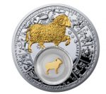 Belarus - 2013 - 20 Roubles - Zodic Signs ARIES (PROOF)