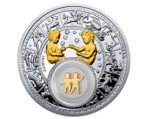 Belarus - 2013 - 20 Roubles - Zodiac Signs GEMINI (PROOF)