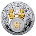 Belarus - 2013 - 20 Roubles - Zodiac Signs GEMINI (PROOF)