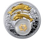 Belarus - 2013 - 20 Roubles - Zodiac Signs PISCES (PROOF)