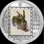British Virgin Islands - 2011 - 10 dollar - A. Durer RABBIT (Masterpieces of Art) (PROOF)