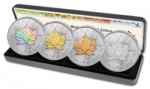 Canada - 2014 - 4 x 5 Dollars - Maple Leaf FOUR SEASONS (BU)