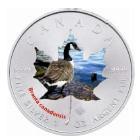 Canada - 2014 - 5 Dollars - Animal Maple Leaf CANADA GOOSE  (PROOF)