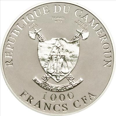 Cameroon - 2010 - 1000 Francs - Ange de l'Amour - Angel of Love (PROOF)