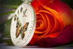 Cameroon - 2010 - 1000 Francs - Papillons d'Amour Butterfly of Love (PROOF)