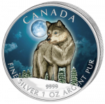 Canada - 2011 - 5 dollar - Wolf (PROOF)