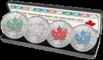 Canada - 2015 - 4 x 5 Dollars - Maple Leaf Four Seasons Jewel Edition (BU)