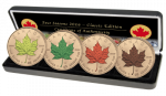 Canada - 2016 - 4 x 5 Dollar - Four Seasons MAPLE LEAF CLASSIC EDITION (BU)